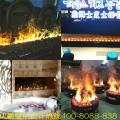 火锅店壁炉 烧烤店电壁炉 烤鱼店3D壁炉 羊肉店篝火壁炉 伏羲壁炉
