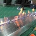 [装饰装修施工资料] 暖融融的酒店大堂休息区大型隔断3D伏羲雾化电壁炉篝火柴堆